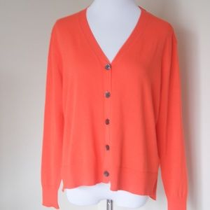 NWT J Crew Summerweight Cotton V-neck Cardigan